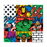 Marvel Comics - New Retro Photo