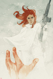 Black Widow No. 17 Cover Plastic Sign by Phil Noto