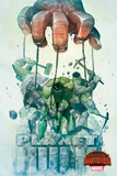 Marvel Secret Wars Cover, Featuring: Hulk Cartel de plástico