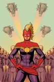 Avengers No. 37 Cover, Featuring: Captain Marvel Prints by Jamie McKelvie