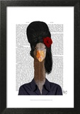 Amy Winehouse Goose Print by  Fab Funky