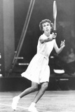 Doris Hart, American Tennis Champion in Competition Photo