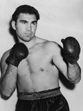 German Boxer Max Schmeling in a Boxing Pose in 1938 Photo