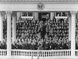 Richard Nixon Sworn in as Vice President Photo