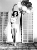 Jean Parker, Hopefully Bringing Some Helium Balloons to Her Weigh-In, 1941 Photo