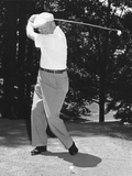 President Dwight Eisenhower Playing Golf at Quantico Virginia Photo