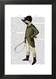 Badger The Rider Full Print by  Fab Funky