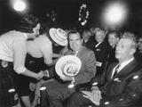 Richard Nixon at a Republican Campaign Event, April 4, 1960 Photo