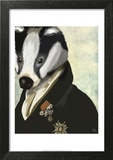 Badger The Hero Print by  Fab Funky