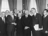 Special Meeting of Top Legislative and Executive Leadership, March 6, 1959 Photo