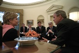 Oval Office Meeting on Sept. 13, 2001, 2 Days Following the 9-11 Terrorist Attacks Photo
