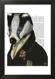 Badger the Hero Art by  Fab Funky