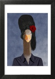 Amy Winehouse Goose Prints by  Fab Funky