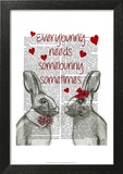 Everybunny Print by  Fab Funky