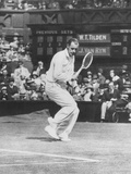 Bill Tilden as He Played Against John Van Ryn, at Wimbledon, July 2, 1930 Photo