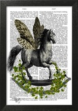 Rocking Horse Fly Prints by  Fab Funky