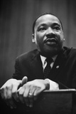Martin Luther King at a Press Conference in Washington, D Photo