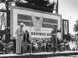Actor Clayton Moore in His Lone Ranger Character Promotes U.S. Savings Bonds Photo