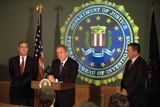 President George W. Bush at Fbi Headquarters, Sept. 25, 2001 Photo