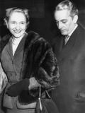 Margaret Truman and Clifton Daniel Jr Photo