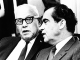 President Richard Nixon with Afl-Cio President George Meany, May 5, 1969 Photo