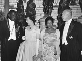 President and Mamie Eisenhower at a Dinner in their Honor Photo