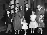 Eisenhower Family Christmas at the White House Photo