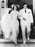 Al Capone's son takes a bride. Mr. and Mrs. Albert Francis Capone Photo