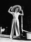 Norma Shearer, Outside Her Santa Monica Home, 1942 Photo