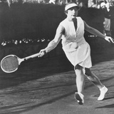 Helen Wills Moody Playing at the Westside Tennis Club at Forest Hills Photo