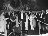 President Eisenhower Arrives at an Inaugural Ball on Jan. 21, 1957 Photo