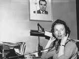 Rosemary Woods, When She Was Personal Secretary to Vice President Richard Nixon Photo