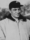 Vince Lombardi When He Was Coach on New York Giants Football Team Photo