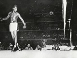 Sugar Ray Robinson, Knocked Out Filipino Flashy Sebastian in the First Round Foto
