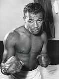 Sugar Ray Robinson Was the Welterweight Boxing Champion from 1946-1950 Foto