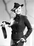 Joan Blondell in Tweed Suit, 1936 Photo
