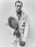 Bill Tilden after His First Match Since Reinstatement as an Amateur by the Alta Photo