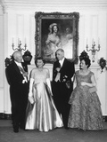 State Dinner at the White House for French President Charles Degaulle Photo