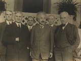 Portrait of Five Scientists in 1931 Photo
