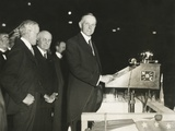 Calvin Coolidge Spoke in Support of Herbert Hoover, at Madison Square Garden Photo