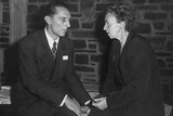 Frederick Joliot and His Wife, Irene Curie, Were Collaborative Physicists Photo