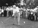 President Dwight Eisenhower Teeing Off Photo