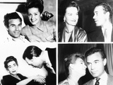 Porfirio Rubirosa with His Four of His Five Wives Photo