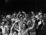 Boys at a Ball Game at Briggs Stadium, Detroit, Michigan, August 1942 Photo