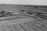 Sowing on a Communist Collective Farm on the Steppes of the Ukraine, Ussr Photo