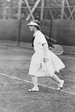 Helen Wills, Woman Champion Tennis Player Ca. 1921 Photo
