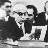 Iranian Premier Mohammed Mossadegh Appearing before the Un Security Council Photo