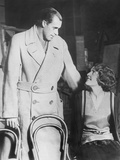 Bill Tilden Rehearsing with His Leading Lady, Actress Diana Beaumont Photo