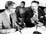 Former Light Heavyweight Champion Archie Moore Holds a Washington News Conference Photo