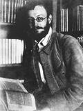 German Writer Herman Hesse in 1909, German-Swiss Writer and Poet Photo